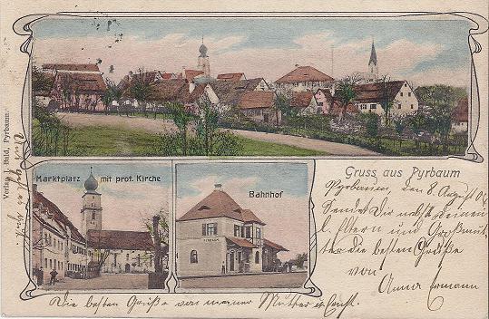 POSTKARTE 1904