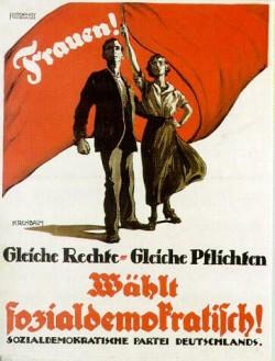 SPD-Wahlplakat von 1919