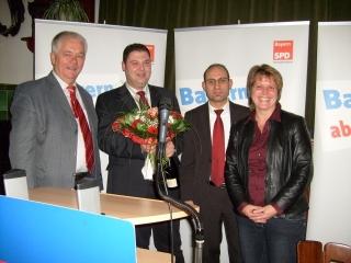 Reinhold Strobl, Christian Beyer, Ismail Ertug, Carolin Braun