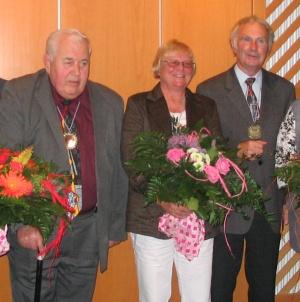 Jakob Härteis, Utha Lipmman und Johann Stauner