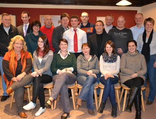 Kandidaten zur Marktratswahl 2014. Foto: Heike Regnet