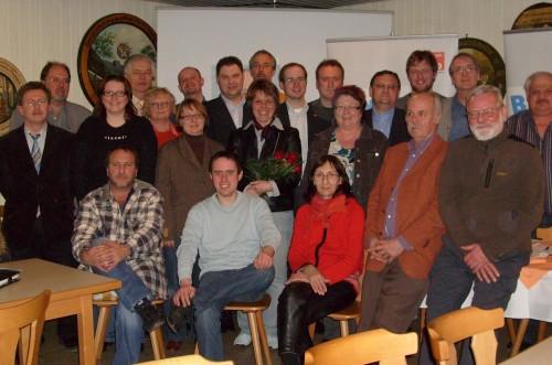 Die neue Vorstandschaft im Landkreis Neumarkt